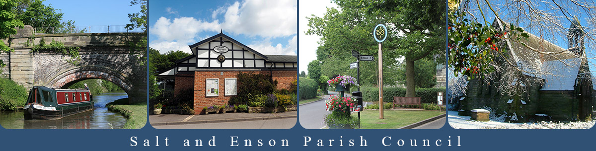 Header Image for Salt and Enson Parish Council